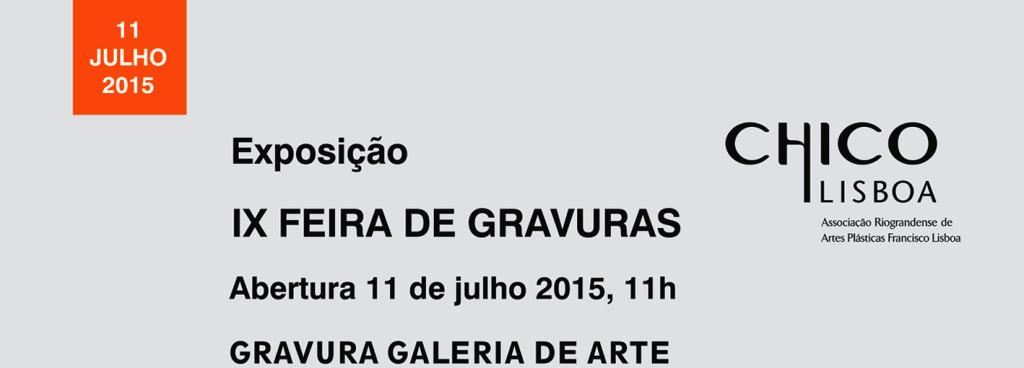 Banner Site IX Feira de Gravuras Chico Lisboa 2015