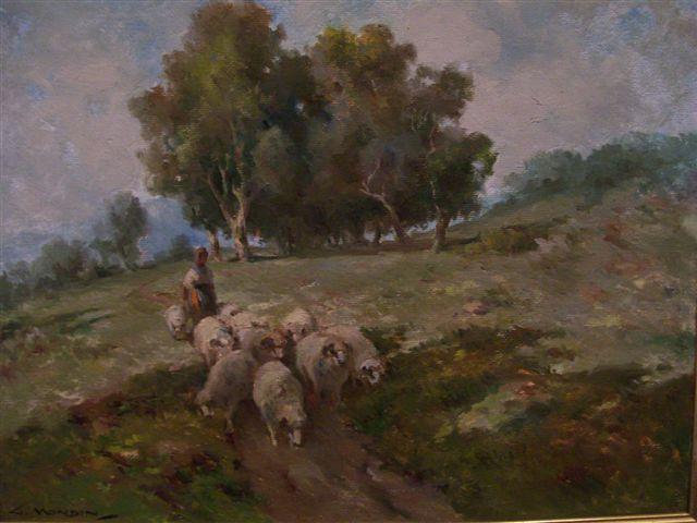 Pintura de Guido Modin