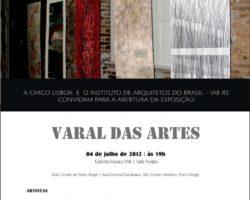 Varal das Artes em exposição no IAB