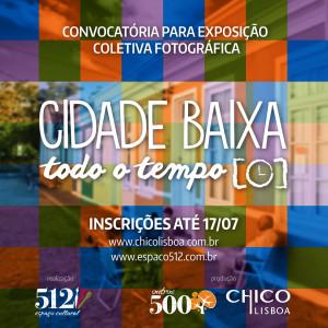 Convite inscrição para Exposição Fotográfica Cidade Baixa Todo o Tempo - 2015