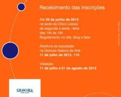 Inscrições para a IX Feira de Gravuras Chico Lisboa 2015