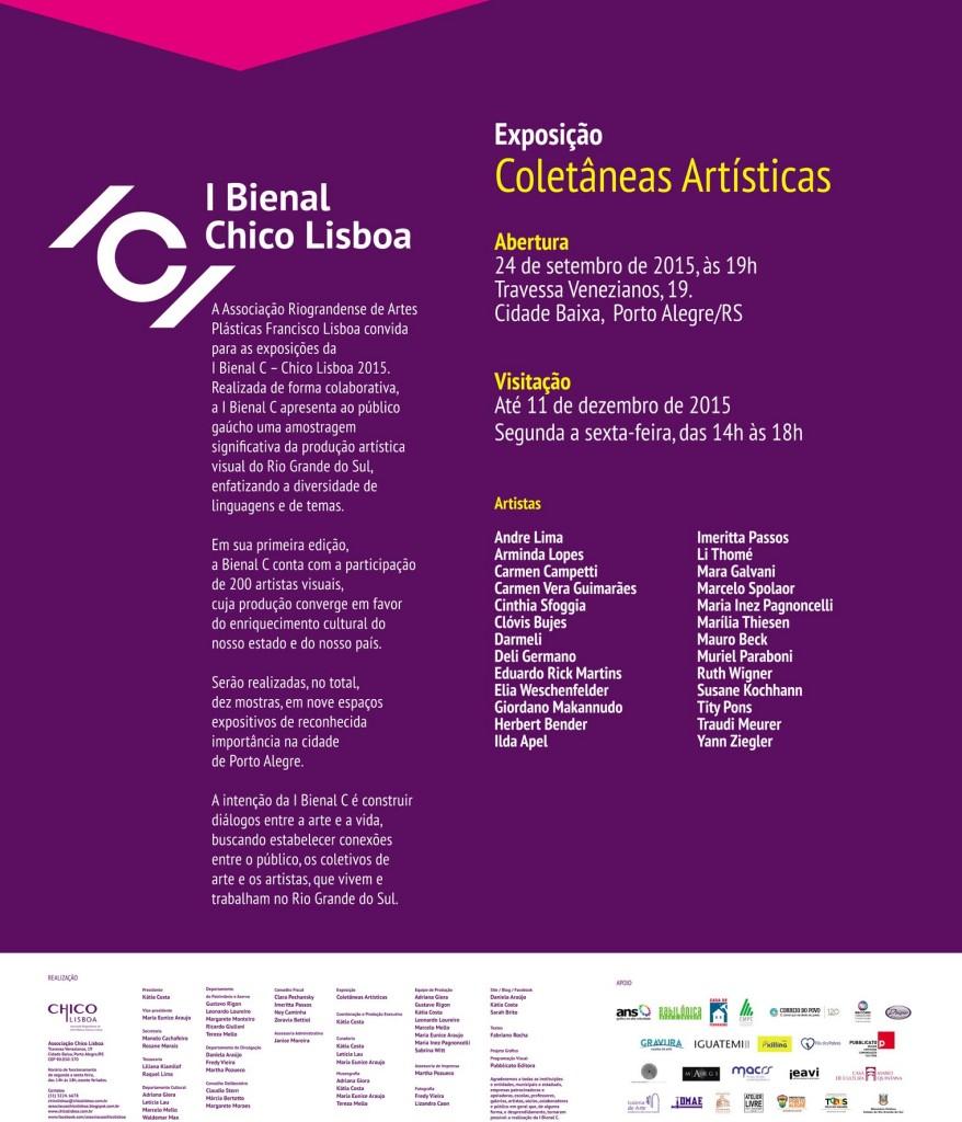I Bienal C – Exposição Coletâneas Artísticas
