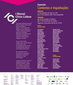 I Bienal C - Convite Exposição Galeria de Arte do Dmae