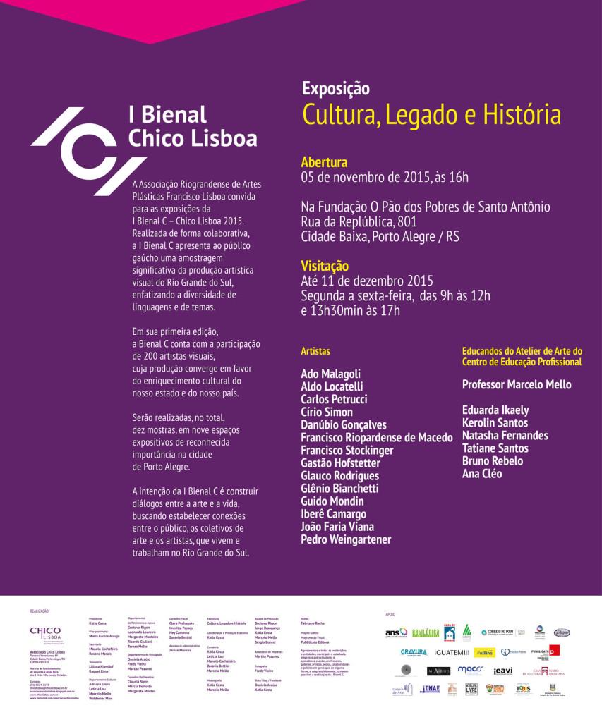 I Bienal C – Cultura, Legado e História