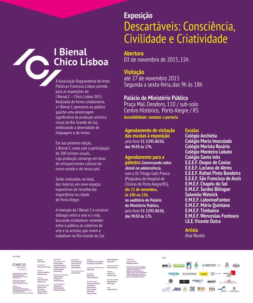 I Bienal C – Descartáveis: Consciência, Civilidade e Criatividade