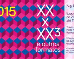 Exposiçào 20×20³ na Chico Lisboa