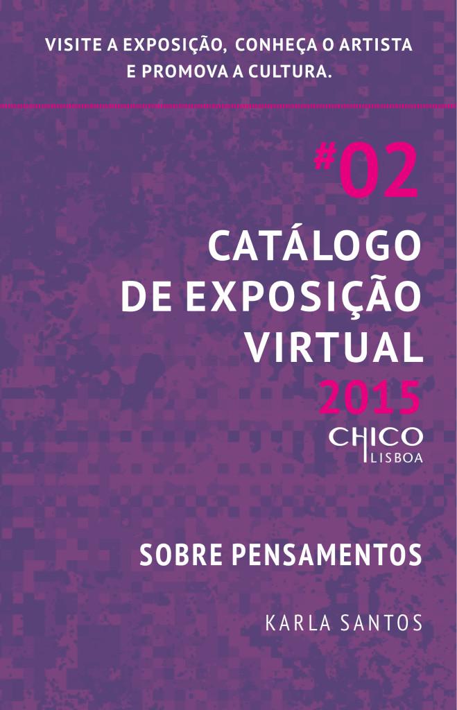 Convite Catálogo Virtual de Karla Santos