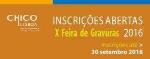 X Feira de Gravura 2016 Inscrições abertas