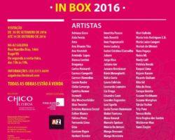 IV Mostra de Arte em Pequenos Formatos INBOX 2016