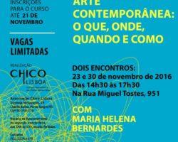 Curso Arte Contemporânea: o que, onde, quando e como