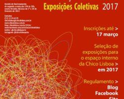 PRORROGADO!! Edital Exposições Coletivas da Chico Lisboa 2017