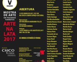 Mostra de Arte em Pequenos Formatos – Arte na Lata 2017