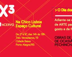 Obras à venda na Feira de Arte da Chico Lisboa