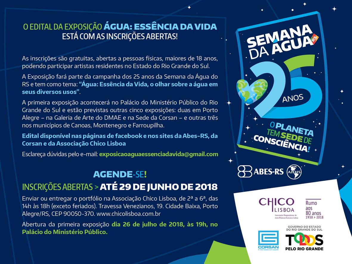Exposição Água: Essência da Vida, no Palácio do MP – Porto Alegre