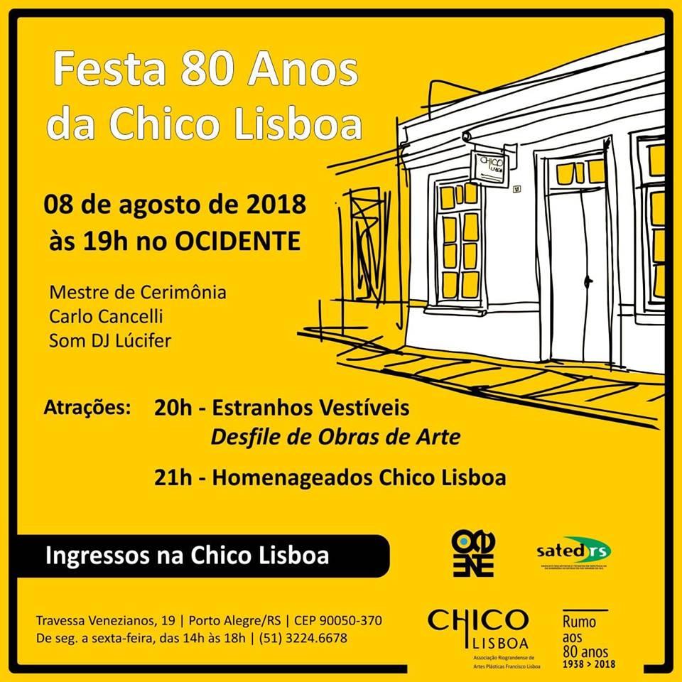 Festa de aniversário da Chico Lisboa – 80 anos
