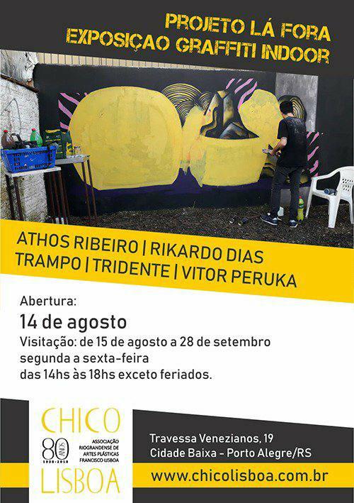 Projeto Lá Fora – Graffiti Indoor