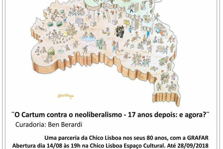Encerrada – Exposição O Cartum contra o Neoliberalismo – 17 anos depois: e agora?