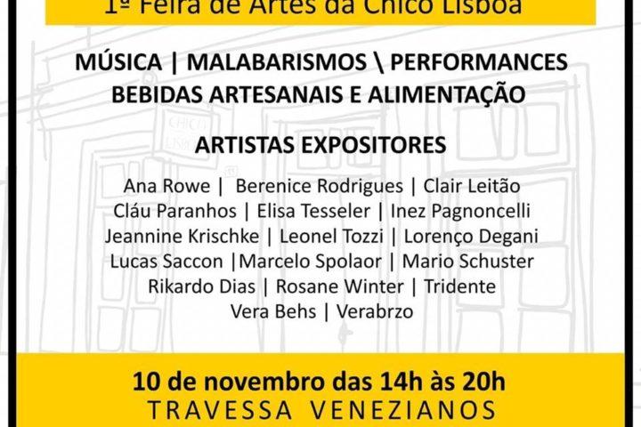 Veneziana – 1ª Feira de Artes da Chico Lisboa