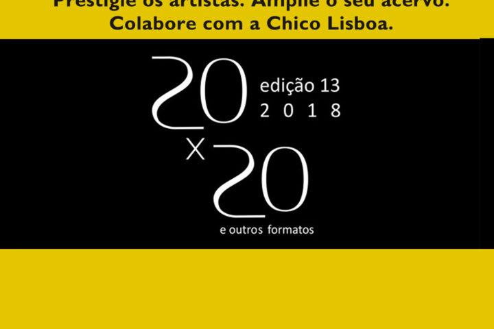 20×20  2018 na Chico Lisboa