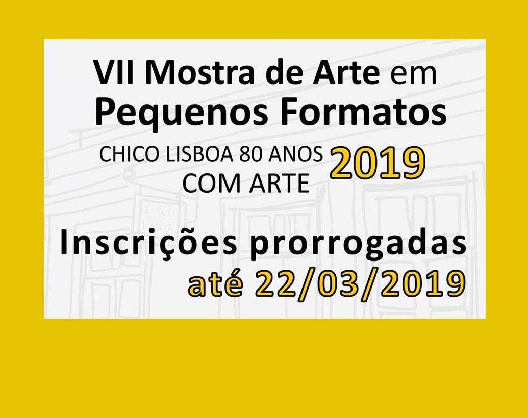 VII Mostra de Arte em Pequenos Formatos 2019