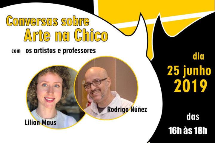 2ª Conversa sobre Arte com Lilian Maus e Rodrigo Nuñez