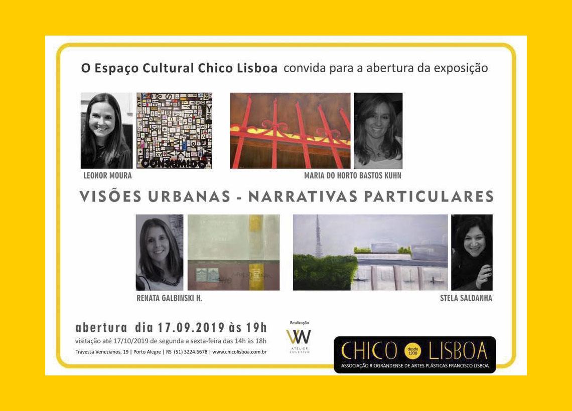 Exposição coletiva ¨Visões Urbanas – Narrativas Particulares¨
