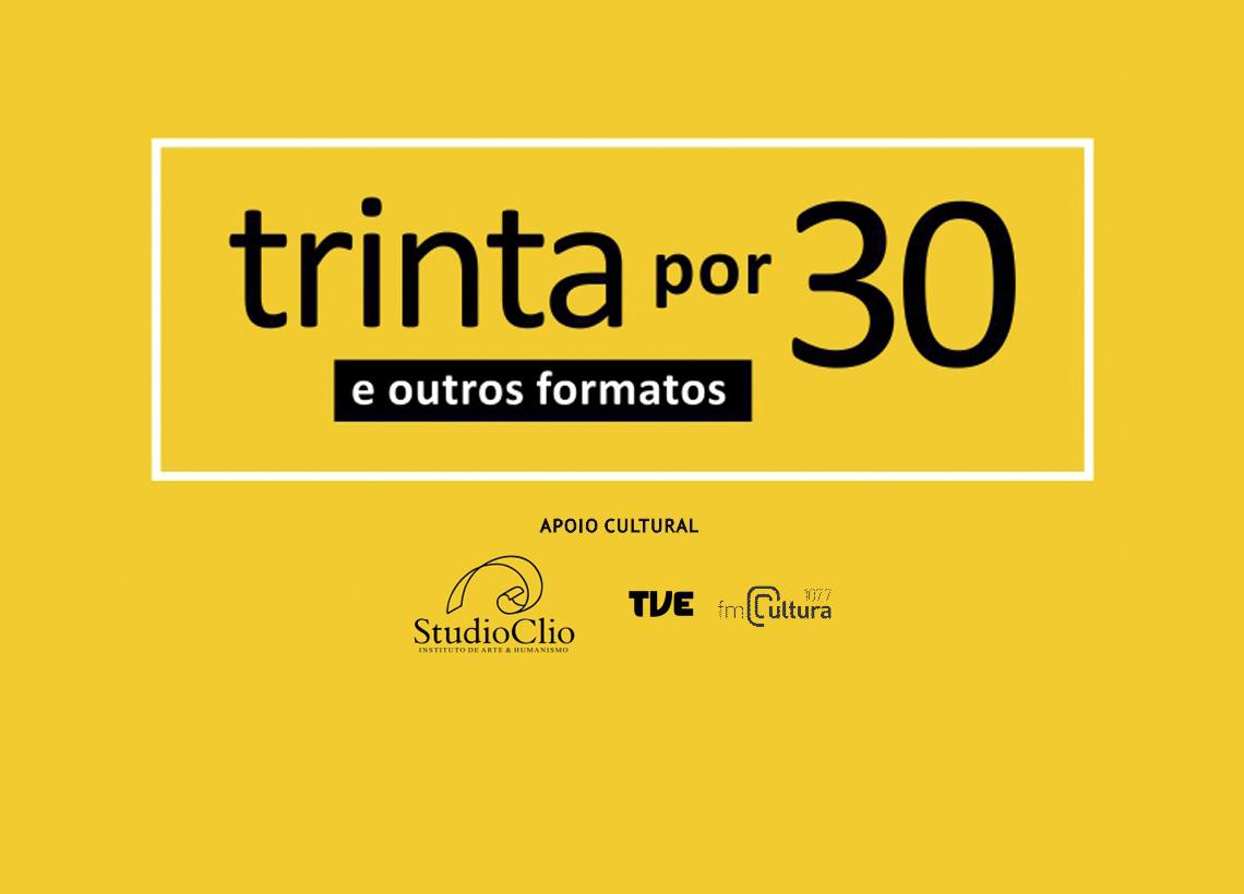 Evento 30×30 e Outros Formatos 2019 em prol da Chico Lisboa