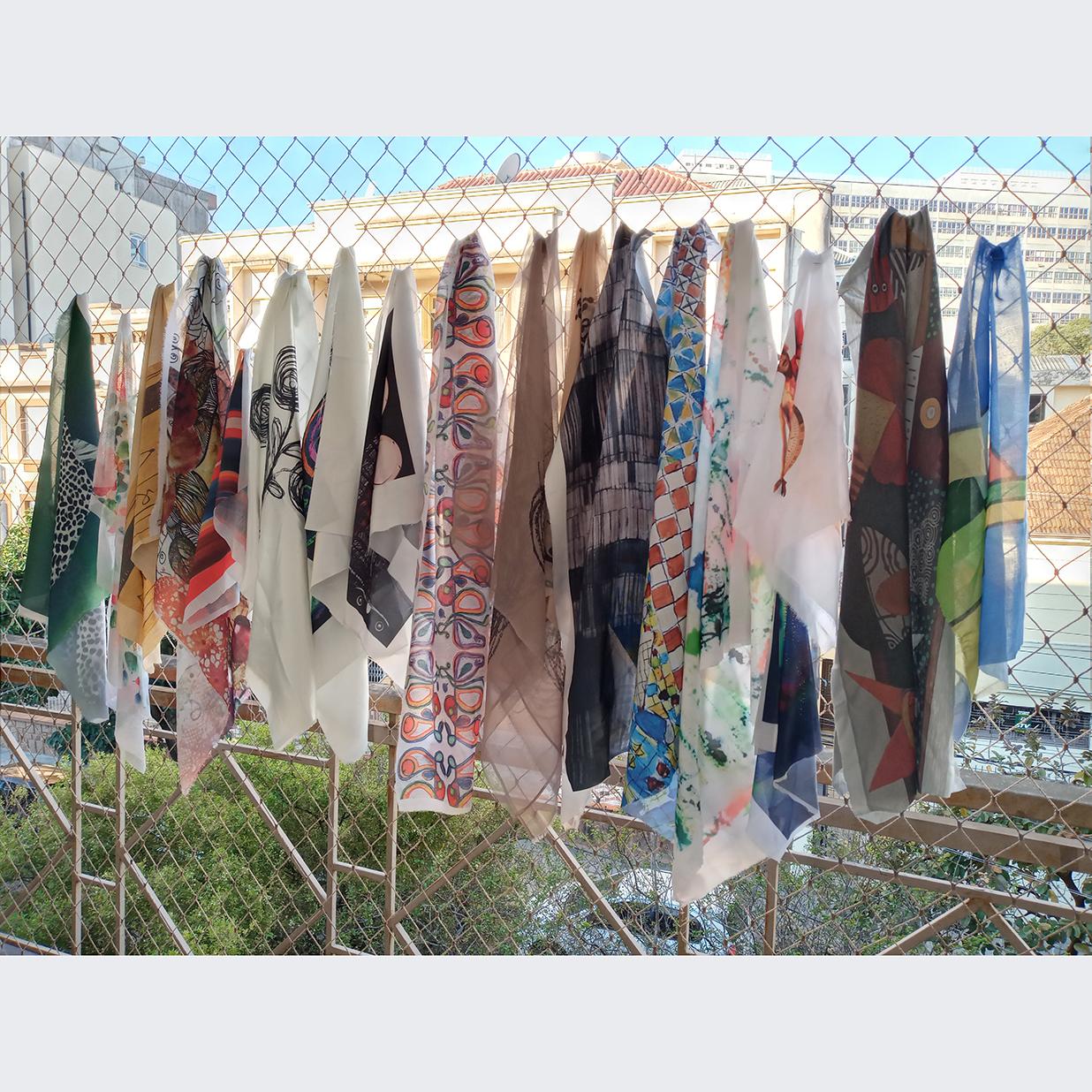 Ana Rowe - Título: As Artes na janela