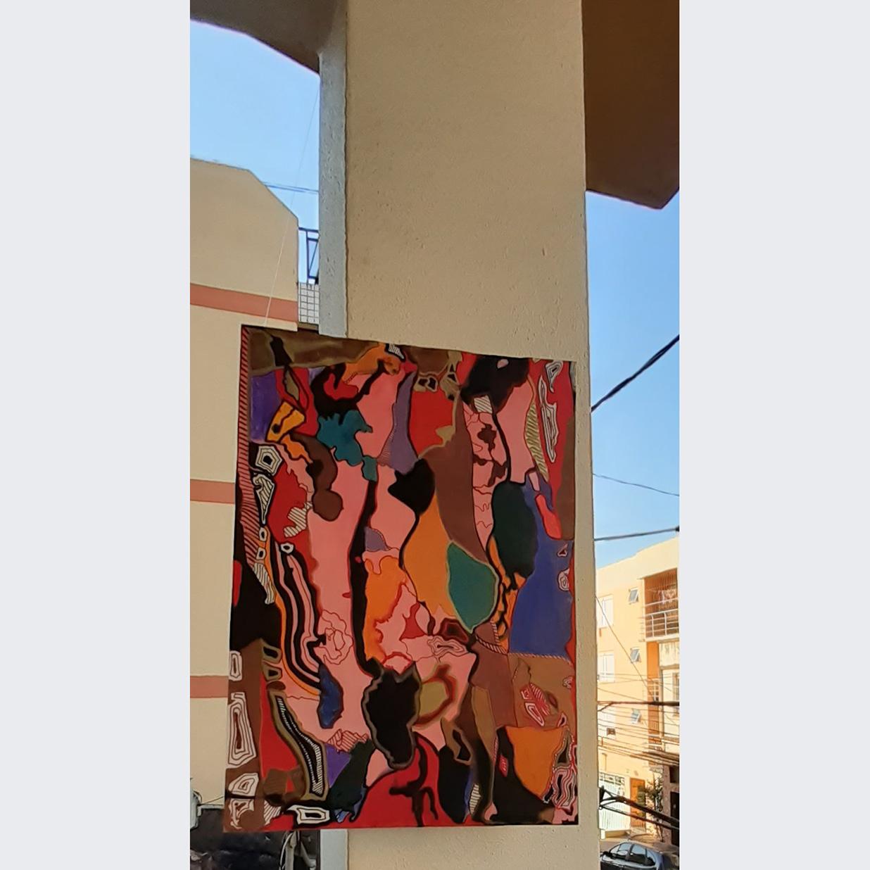 Jane Z - Título: Vejo cores na janela