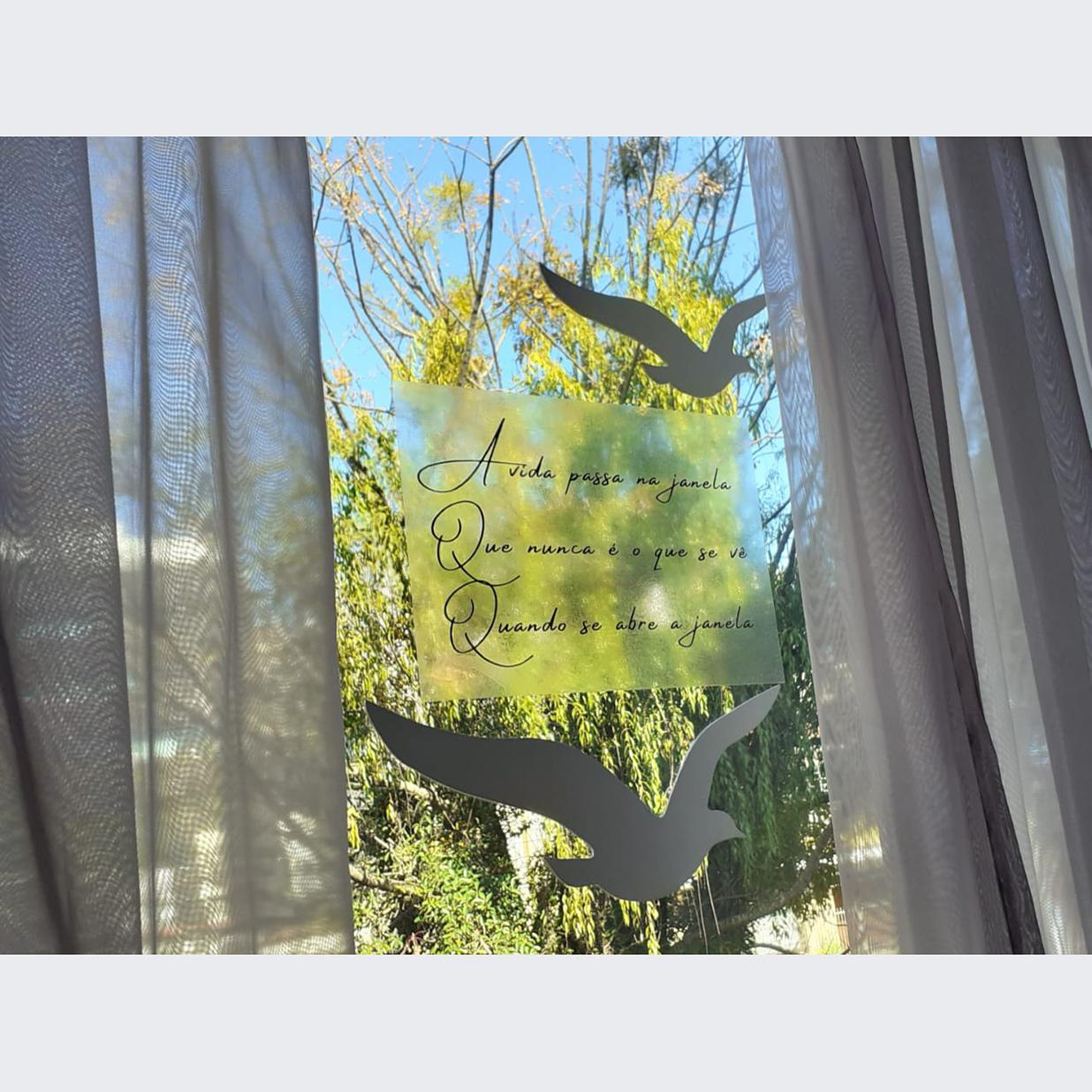 Noely Luft - Título: A vida passa na janela...