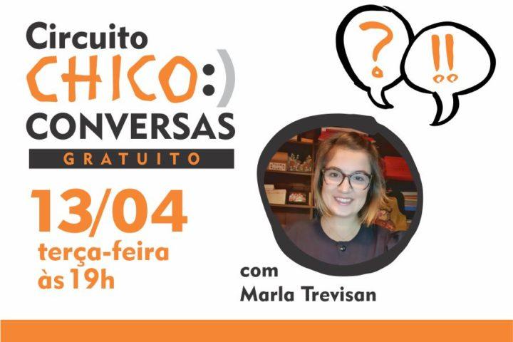 """Conversa sobre """"Proteção aos Direitos do Autor nas Artes Visuais"""" com Marla Trevisan"""