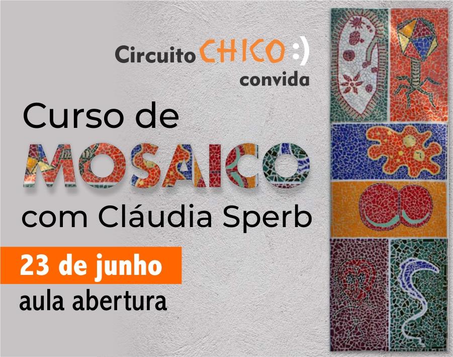 Curso de Mosaico com Claudia Sperb