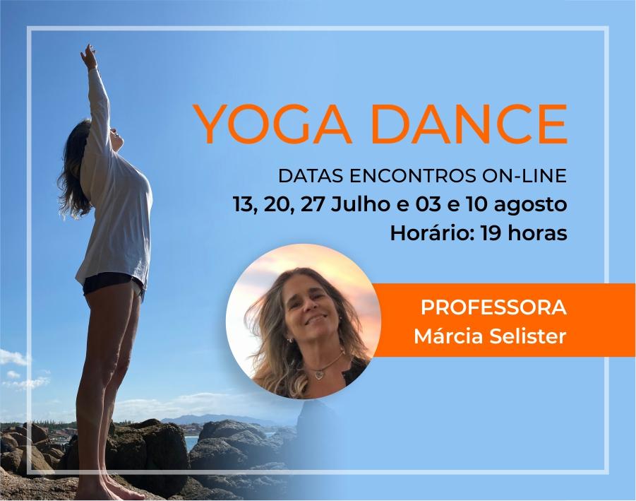 Yoga Dance com Márcia Selister