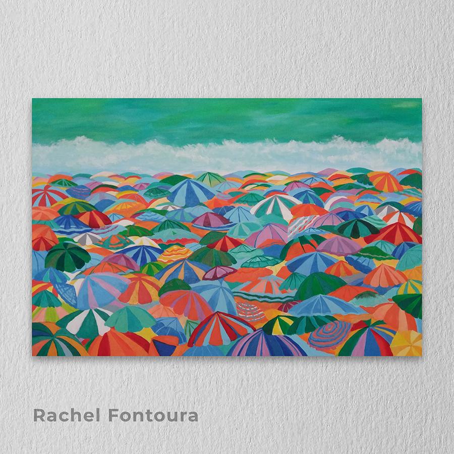 Artista: Rachel Fontoura - Título: In-Verso 90cm x 60cm - Técnica: Acrílica sobre tela  Valor R$ 900,00
